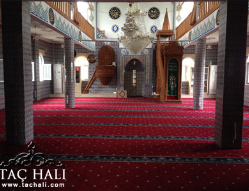 İstanbul Saflı Cami Halısı